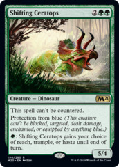 Shifting Ceratops - Foil