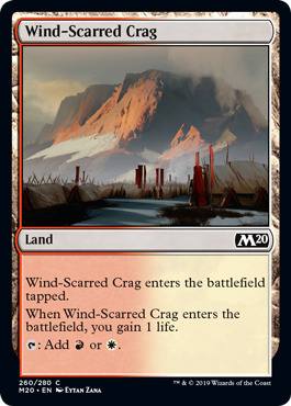 Wind-Scarred Crag - Foil