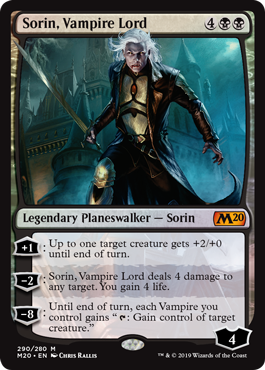 Sorin, Vampire Lord - Foil - Planeswalker Deck Exclusive