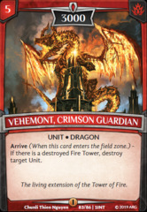 Vehemont, Crimson Guardian