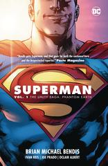 Superman Tp Vol 01 The Unity Saga Phantom Earth (STL130428)