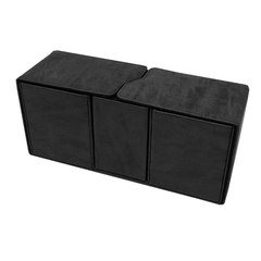 Ultra Pro - Alcove Vault Flip Box - Suede Collection: Jet