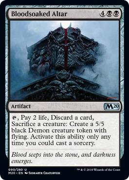 Bloodsoaked Altar - Foil