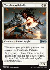 Twinblade Paladin - Planeswalker Deck Exclusive