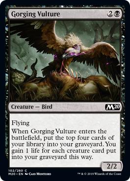 Gorging Vulture - Foil