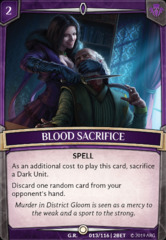 Blood Sacrifice on Channel Fireball