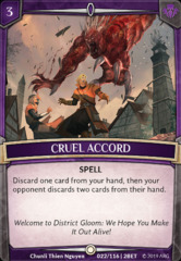 Cruel Accord - Foil on Channel Fireball