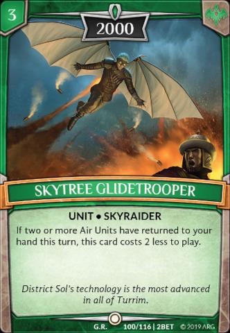 Skytree Glidetrooper - Argent Saga TCG Singles » Set 1