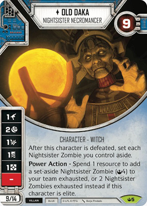 Old Daka - Nightsister Necromancer - 005