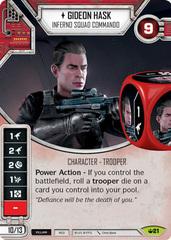Gideon Hask - Inferno Squad Commando