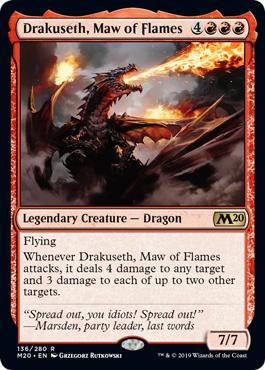 Drakuseth, Maw of Flame - Foil