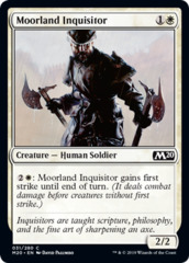 Moorland Inquisitor - Foil