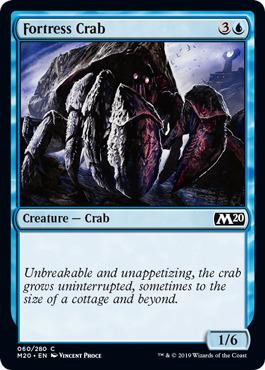 Fortress Crab - Foil