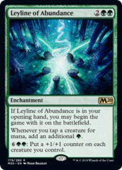 Leyline of Abundance - Foil