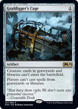 Grafdiggers Cage - Foil