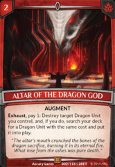 Altar of the Dragon God on Channel Fireball