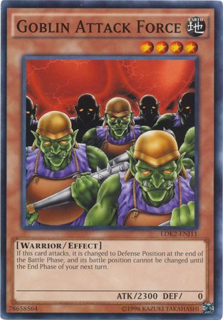 Goblin Attack Force - LDK2-ENJ11 - Common - Unlimited Edition
