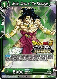 Broly, Dawn of the Rampage (Judge Promo) - BT1-076 - PR