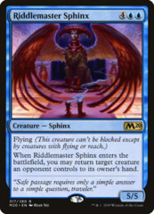 Riddlemaster Sphinx - Welcome Deck Exclusive