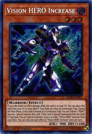 BLHR-EN000 SECRET YUGIOH BATTLE OF LEGEND HERO/'S  R FIVE-HEADED DRAGON