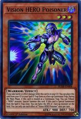 Vision HERO Poisoner - BLHR-EN008 - Ultra Rare - 1st Edition