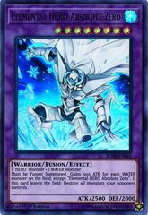 Elemental HERO Absolute Zero - BLHR-EN065 - Ultra Rare - 1st Edition on Channel Fireball