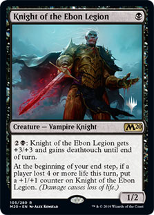 Knight of the Ebon Legion - Promo Pack