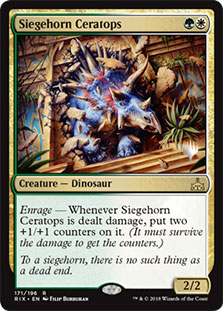 Siegehorn Ceratops - Promo Pack
