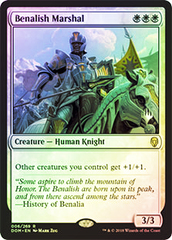Benalish Marshal - Foil - Promo Pack