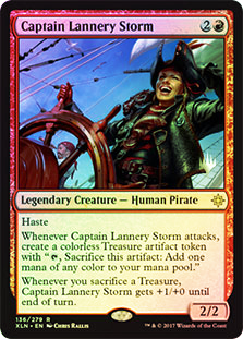Captain Lannery Storm - Foil - Promo Pack