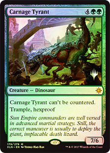 Carnage Tyrant - Foil - Promo Pack