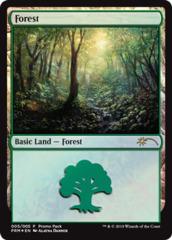 Forest (005) - Foil - Promo Pack