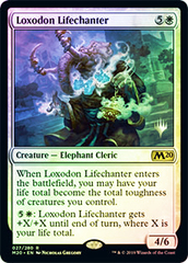 Loxodon Lifechanter - Foil - Promo Pack