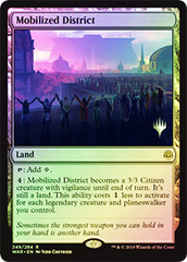Mobilized District - Foil - Promo Pack