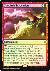 Sunbird's Invocation - Foil - Promo Pack