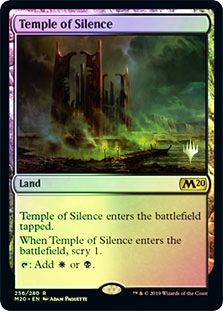 Temple of Silence (M20) - Foil - Promo Pack