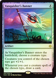 Vanquishers Banner - Foil - Promo Pack