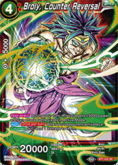 Broly, Counter Reversal - BT7-020 - SR