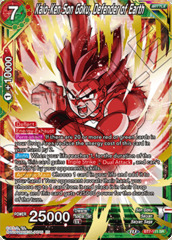 Kaio-Ken Son Goku, Defender of Earth - BT7-111 - SR