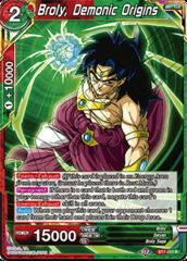 Broly, Demonic Origins - BT7-117 - R