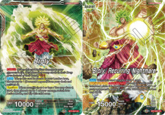 Broly // Broly, Recurring Nightmare - BT7-002 - UC - Foil on Channel Fireball