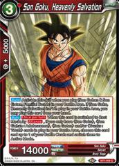 Son Goku, Heavenly Salvation - BT7-004 - C - Foil