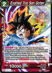 Exalted Trio Son Goten - BT7-009 - C - Foil