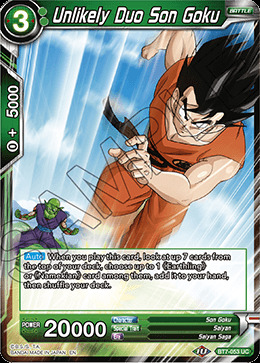 Unlikely Duo Son Goku - BT7-053 - UC - Foil