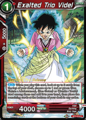 Exalted Trio Videl - BT7-014 - C - Pre-release (Assault of the Saiyans)