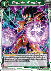 Double Sunday - BT7-070 - C - Pre-release (Assault of the Saiyans)