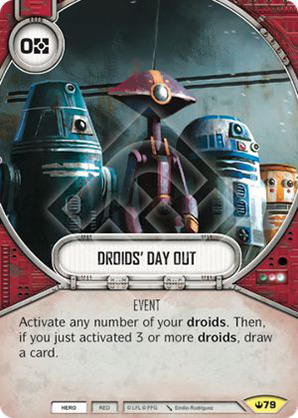 Droids Day Out