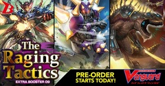 V-EB09 - The Raging Tactics Booster Box