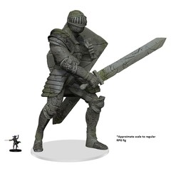 D&D Premium - Walking Statue of Waterdeep The Honorable Knight