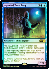 Agent of Treachery - Foil - Prerelease Promo